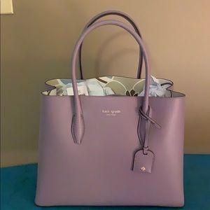 Kate Spade medium lavender satchel hand bag